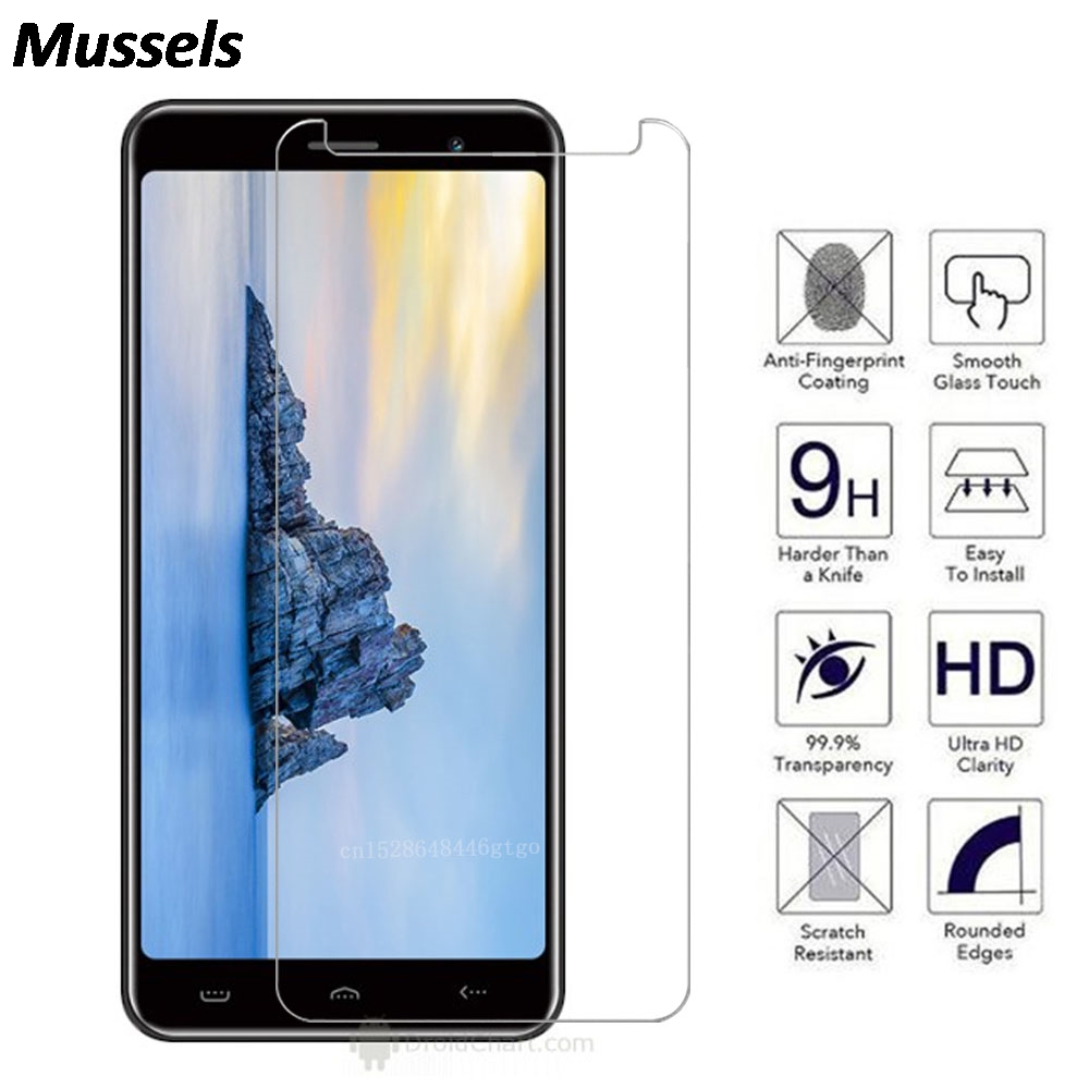 2.5D 9H Tempered Glass For <font><b>Homtom</b></font> S99 S99i C13 C2 <font><b>C8</b></font> S12 S16 HT10 C1 HT16 HT16S S7 Screen Protector Film For Doogee Y8 y8c H5 image