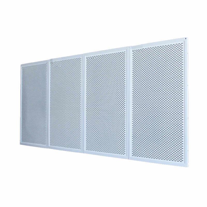 LG2-4, 2 pièces/lot, mur chaud, panneau de chauffage infrarouge électrique, panneau de chauffage rayonnant, Solutions de chauffage IR à la maison 450W