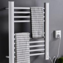 Электрическая вешалка для полотенец Бытовая сушилка интеллектуальная постоянная температура электрическое полотенце с подогревом вешалка для полотенец в туалет