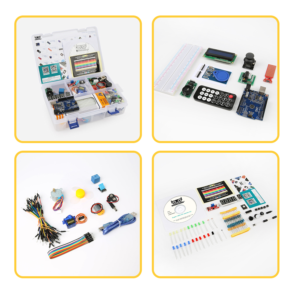 Closeout Deals2019 The Most cost-effective DIY Project Starter Electronic DIY Kit With Tutorial Compatible