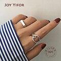 925 Sterling Silber Finger Ringe Charme Frauen Mädchen Thai Silber Schmuck Neue Mode Kreuz Twining Handgemachte Ring