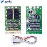 BMS 6S 7S 8S 9S 10S 11S 12S 13S 25A 4,2 V lithium Li-Ion Lifepo4 Batterie Ladung Schutz Bord Lifepo4 Pack BMS PCB PCM