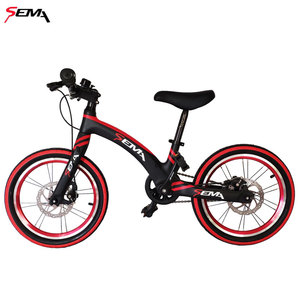 Image 2 - 16 inch SEMA carbon childrens bicycle super light fit 4 years to 9 years boy and girl bike carbon handlebar carbon seat post