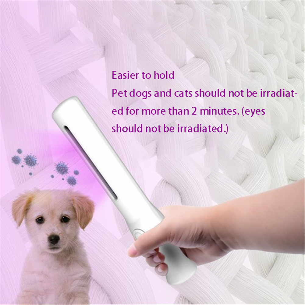 Portable Sterilization Stick Disinfection Rod Personal Care Traveling Sterilizer UV Sanitizer Light UV Lamp Clean Air