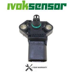 Image 3 - 038 906 051 D manifoldu mutlak Turbo harita sensörü takviye basıncı Drucksensor gönderen için AUDI A3 A4 A6 Q3 S3 TT 1.8 2.0 TFSI FSI T