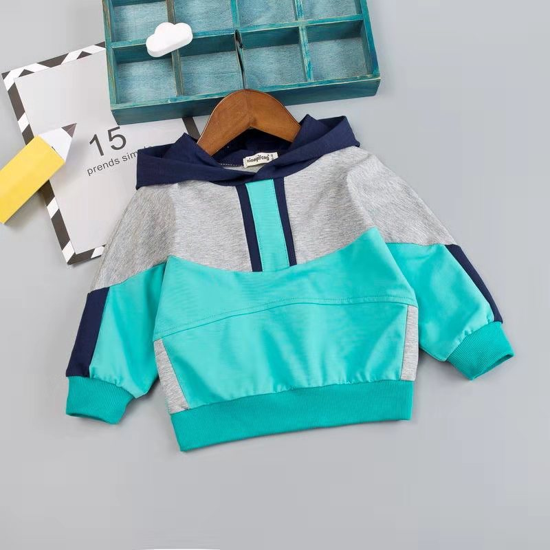Image 4 - Kid Boy Clothes Set For Girl Casual Sportswear 2019 Fashion Patchwork Baby Boy T Shirt + Pants 1 2 3 4Y-in Clothing Sets from Mother & Kids