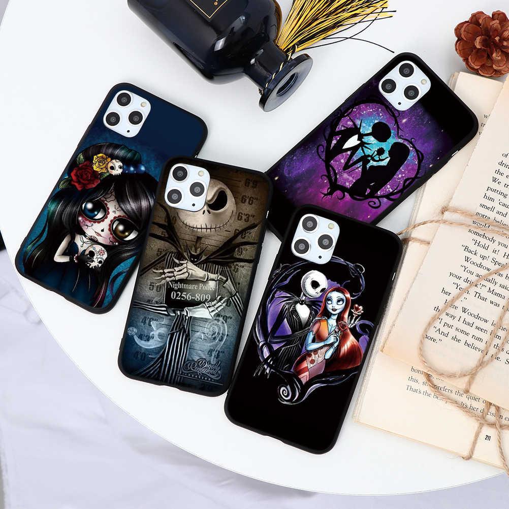 Corpse Bride Caso Divertente Per iphone 8 7 6 6S Plus Cover Per iphone 7 Plus Per Il Caso di iphone XS 11 Pro Max XR X 5 5S Fundas Silicone