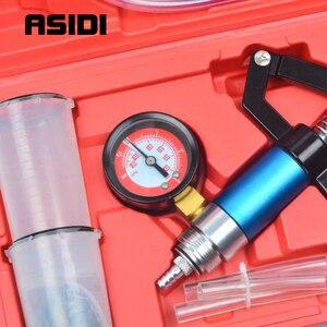 Image 3 - Probador de bomba de presión de vacío de mano, purgador de líquido de freno, Kit de sangrado, herramientas PT1790