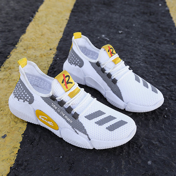 Men's Lightweight Running Shoes Summer Ultra-light Breathable Sneakers Zapatos De Mujer Walking Shoes Boys Sneakers Size 39-44 3