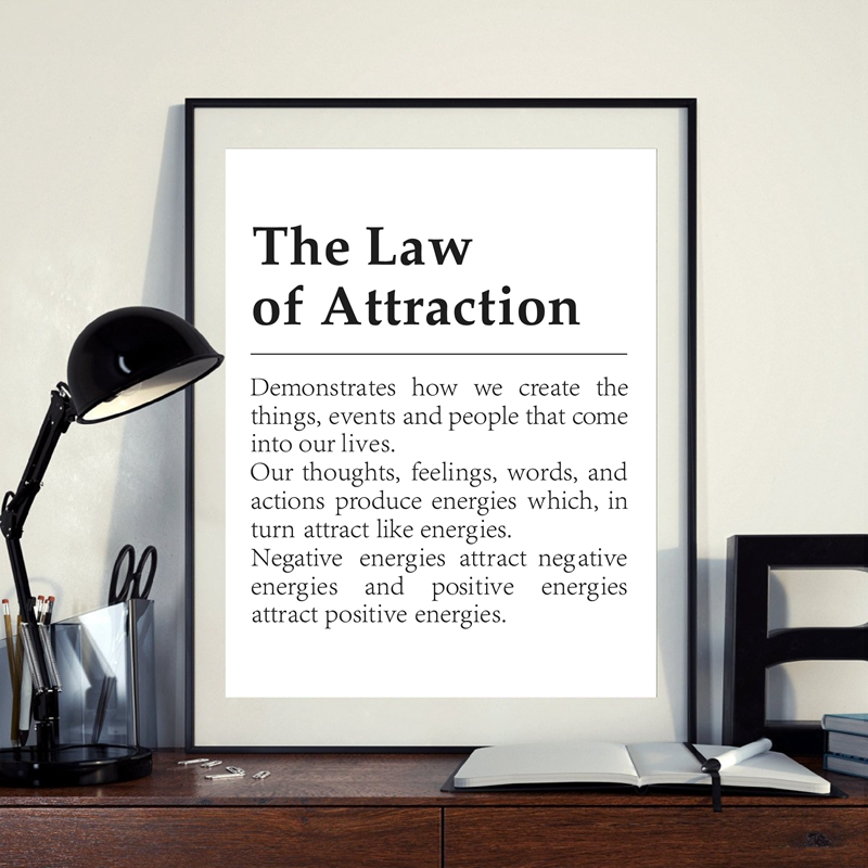 The Law of Attraction Definition Print