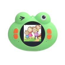 H132 лягушка детский фотоаппарат Hd 1080P Детская цифровая фото камера видео рекордер видеокамера подарок на день рождения