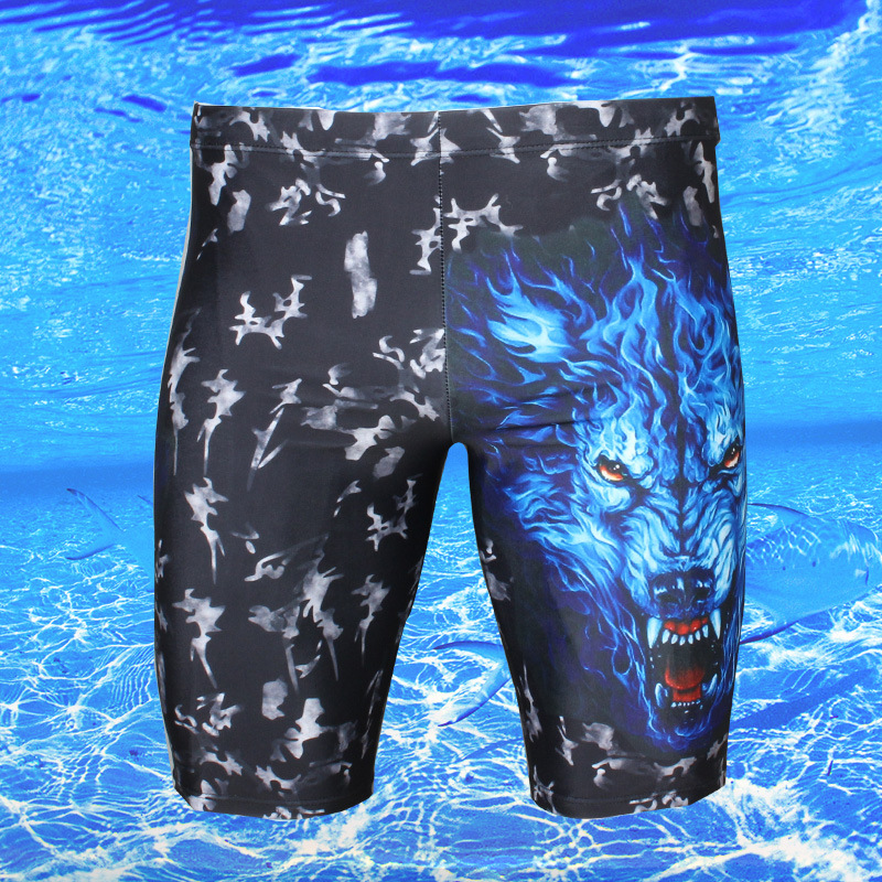 BOY'S Swimming Boxer Beach Shorts Waterproof Sweat-wicking Swimming Trunks Swimming Product Short Swimming Trunks
