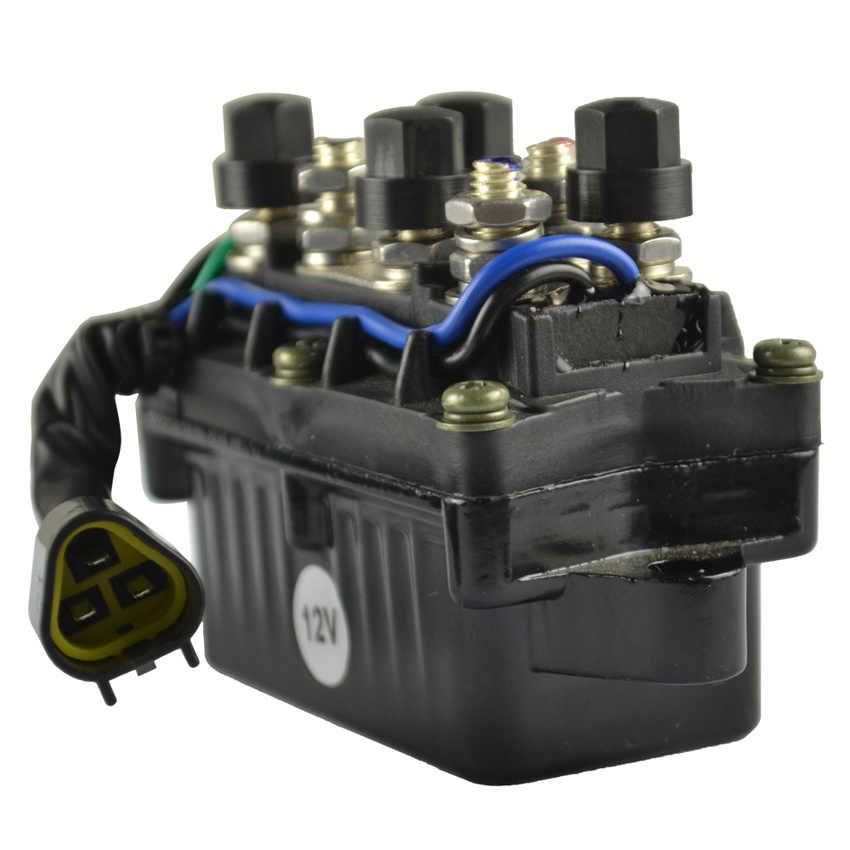 تقليم التتابع قارب قوة المحرك 3 دبوس 12 فولت مقاوم للماء لياماها الخارجية 40-90 HP61A-81950-00-00 61A819500100 3 دبوس في المكونات