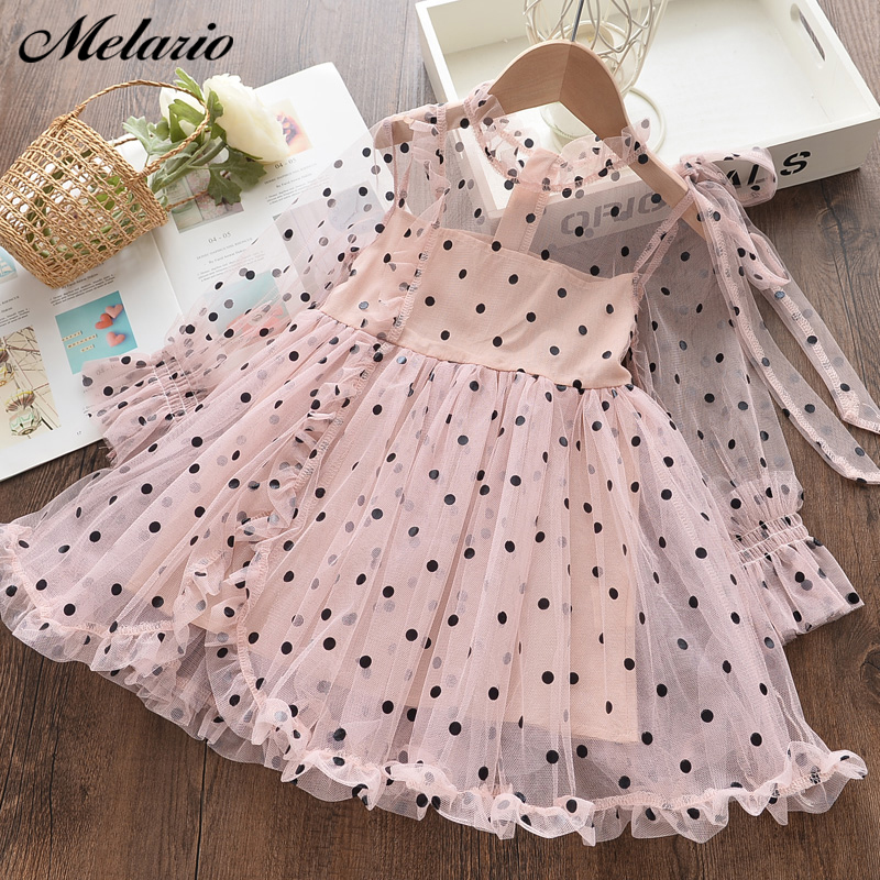 Melario Summer Girls Dress New Costumes Kids Dresses for Girls Children Princess Party Dress Baby Girls Clothes Casual Wear 2-6T 1