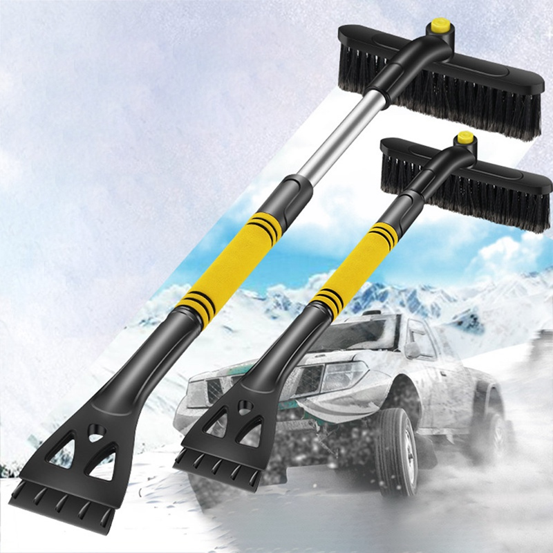 Car Winter Magical Car Ice Scraper Glass Snow Remover Car Windshield Auto Snow Brush Cleaner Tool Broom Wash Accessories Tools image