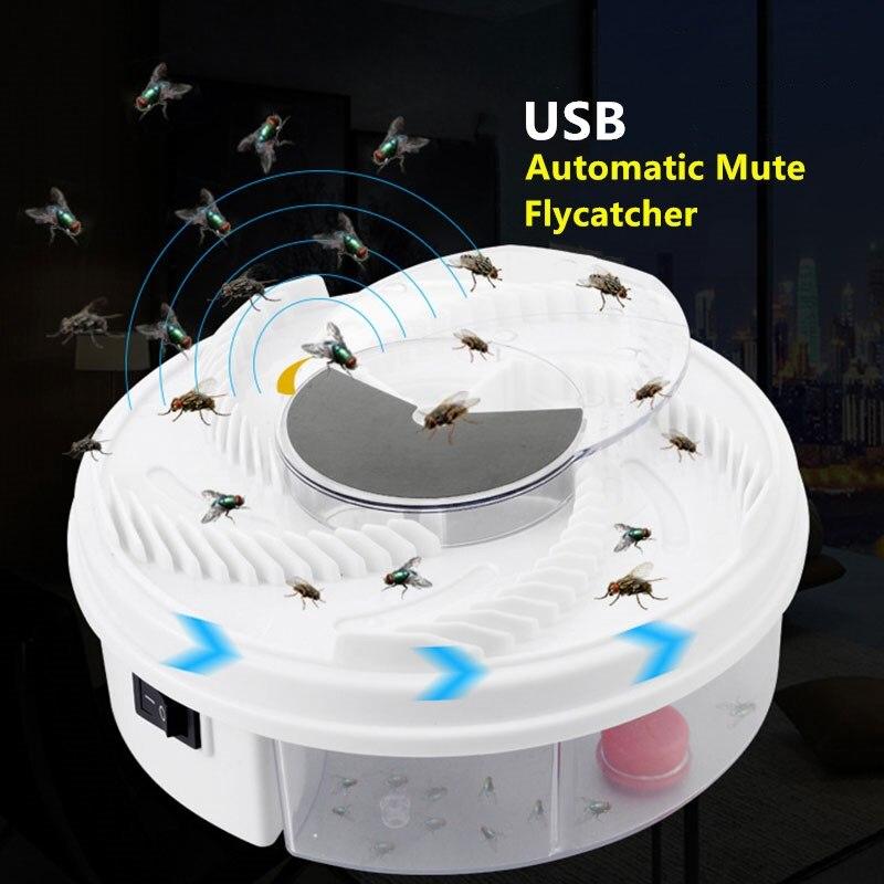 Электронная ловушка для насекомых, эффективный автоматический Отпугиватель комаров и насекомых, USB