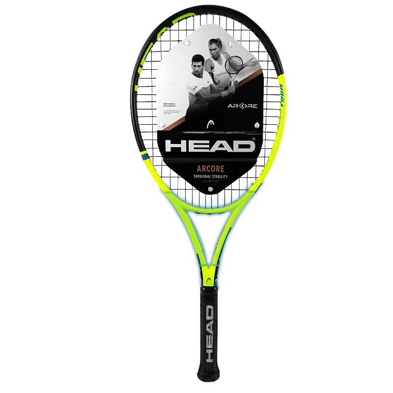 Raquete de Tênis Alça com Corda Original para Homens Profissional Cabeça Composto Carbono Padel Raquetes Absorção Choque Bolsa