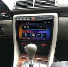 "9 ""4G RAM 8 núcleos Android coche DVD estéreo navegación GPS para Audi A4 S4 RS4 8E 8F B9 B7 2002 a 2007 2008 radio unidad principal 4G"
