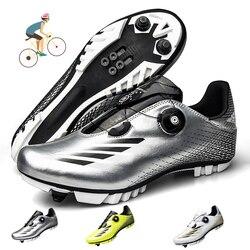MTB Cycling Shoes Men Outdoor Sports Professional Self-locking Nonslip Mountain Bike Sneakers Racing Women Bicycle Shoes