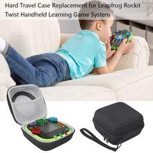 Caixa protetora saco de armazenamento duro para leapfrog rockit twist handheld jogo de aprendizagem