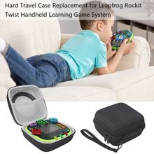 صندوق واقي حقيبة التخزين الصلب ل LeapFrog RockIt تويست المحمولة لعبة التعلم