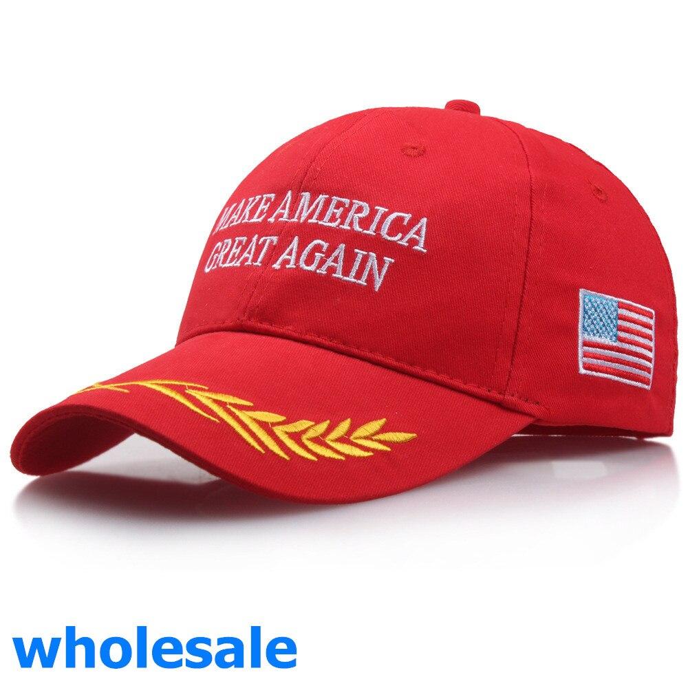 Donald Trump 2020 Hat Black USA Flag Make America Great Again Cap