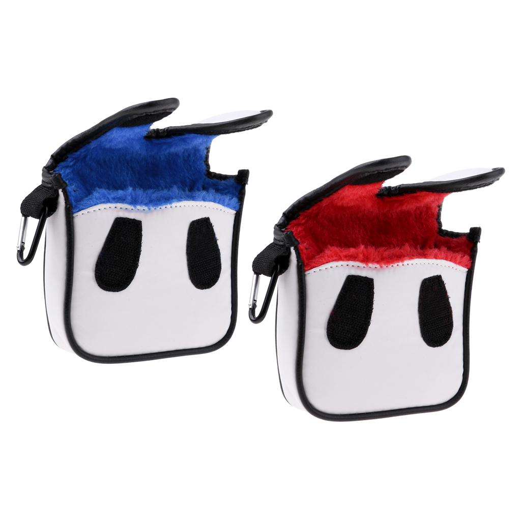 Premium Square Golf Mallet Putter Head Cover Club Protector Headcover Golf Accessories