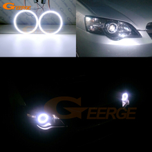 Excellent COB led angel eyes kit halo rings Ultra bright DRL For Subaru Legacy B4 Liberty IV 2004 2005 2006
