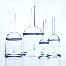 Laboratory Sand core Bacteria Funnel Acid resistant glass filter funnel G1/2/3/4/5