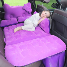 Travel Bed Mattress-Bed Inflatable Back-Seat-Accessories Car for Head-Guard Flocking