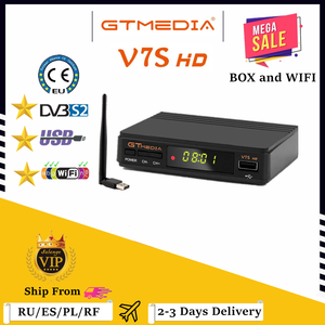 Image 1 - Récepteur Satellite GTMedia V7S Full HD décodeur TV DVB S2 + mise à niveau WIFI USB par récepteur tv Freesat V7