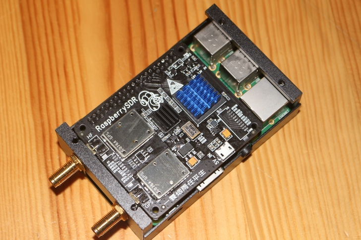 Новый 16-битный 62-метровый сетевой ресивер SDR с полосой пропускания в реальном времени