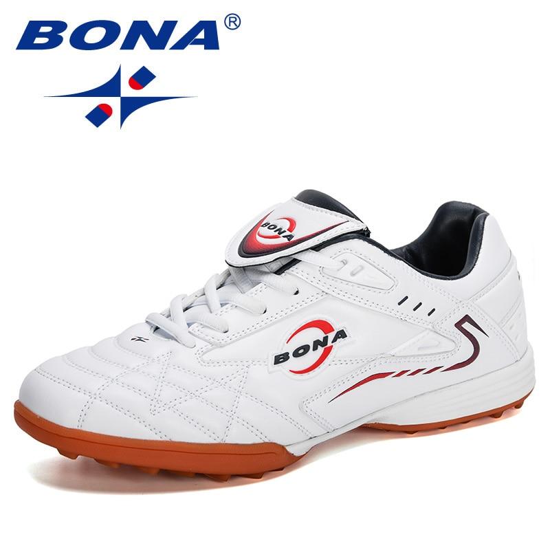 BONA 2020 New Style Training Football Boots Men High Quality Outdoor Field Non Slip Soccer Shoes Man Sneakers Zapatos De Futbol