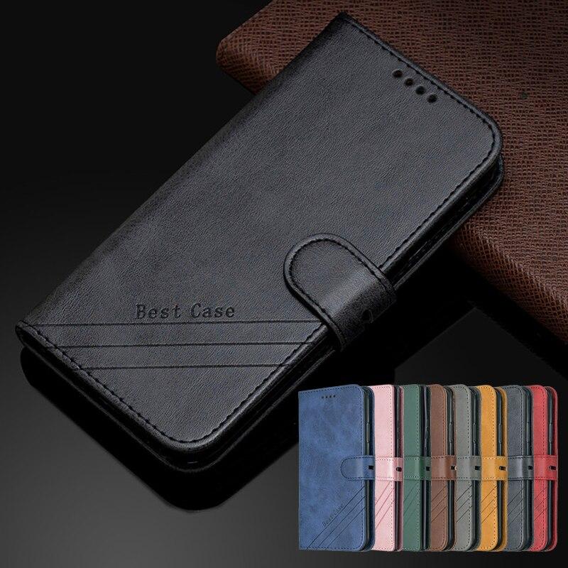 Чехол Etui on для Xiaomi Redmi 9T 9AT 9C NFC 9i, кошелек, Магнитный кожаный чехол для Redmi9 Power 9 Prime T, откидной Чехол для телефона