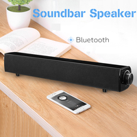 10W Bluetooth Speaker Soundbar 4500mAh Wireless Bass Stereo Subwoofer USB Aux 3.5mm For Home Theatre Smartphone PC