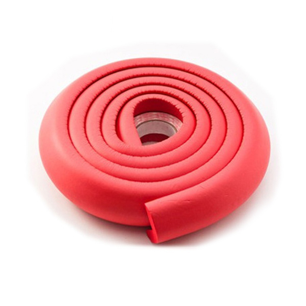 Essential Home High Elastic 2M NBR Foam Kids Safety Table Corner Softener Cushion Strip Double-sided Adhesive Guard Protector