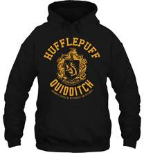 Men Hoodie Funny Cool Hufflepuff Quidditch Hogwarts Women Streetwear(China)