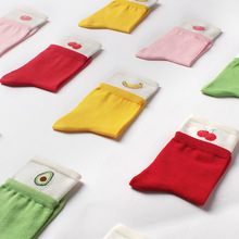 New original socks double-layer socks cotton socks Crew socks Fruit avocado socks tck digital camo crew socks