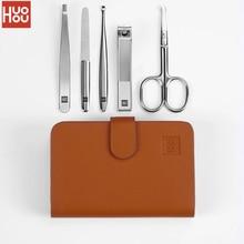 Huohou coupe ongles en acier inoxydable nez tondeuse Portable voyage hygiène Kit coupe ongles outils ensembles