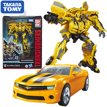 Takara Tomy Transformers Studio Series 49 Bumblebee SS49 Deluxe Class Robot Action Figure Movie Car Model Toys for Boys Gift