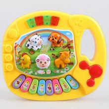 Детские Пианино музыкальные игрушки для детей Детские Мультяшные животные ФЕРМА МУЗЫКАЛЬНЫЕ Обучающие игрушки, пазлы Развивающие детские музыкальные игрушки