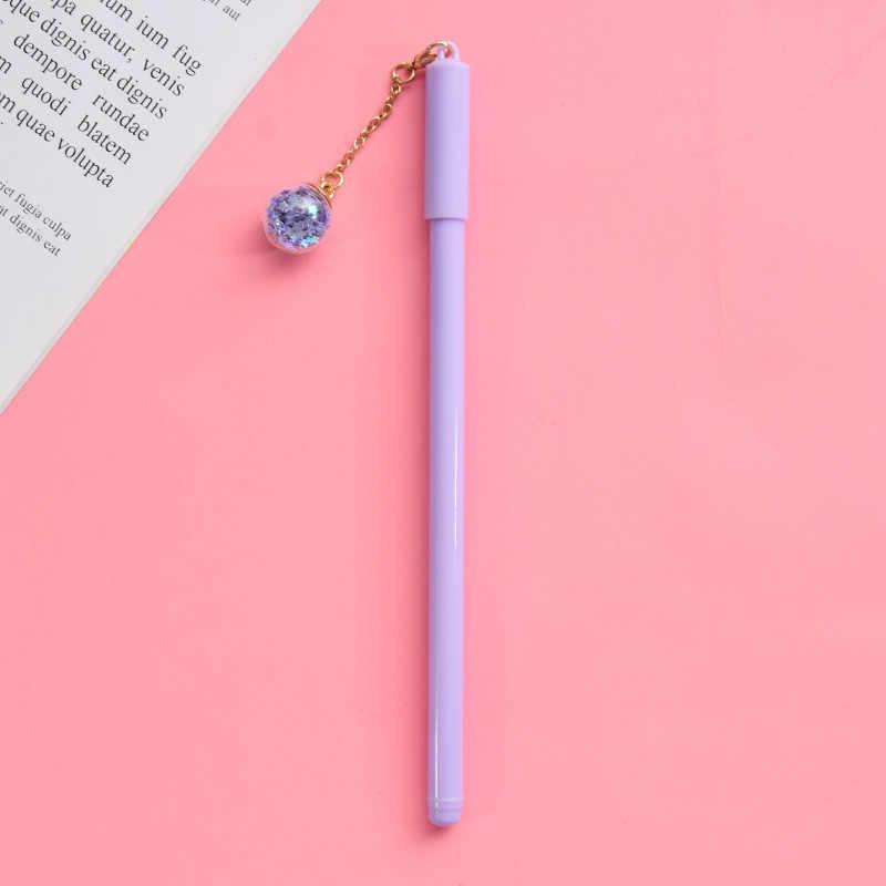 36 ชิ้น/เซ็ตเกาหลีน่ารักสร้างสรรค์เจลปากกาน่ารักจี้ปากกา WIND CHIME เจลปากกาปากกาปากกาขายส่ง Aeolian Bells ปากกาขายส่ง