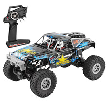 104310 RC Car 1/10 Climbing Car 15KM/H 4WD Dual Motor RC Buggy Off Road 2.4G Remote Control Car Gift Toys for Children цена 2017