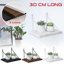 Wooden Floating Shelves Wall-Mounted Hanging for Bedroom Living Room Home Wall Decor