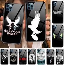 hollywood undead Hard  Anime Style Phone Case cover For iphone 12 pro max 11 8 7 6 s XR PLUS X XS  SE 2020 mini  black cell shel