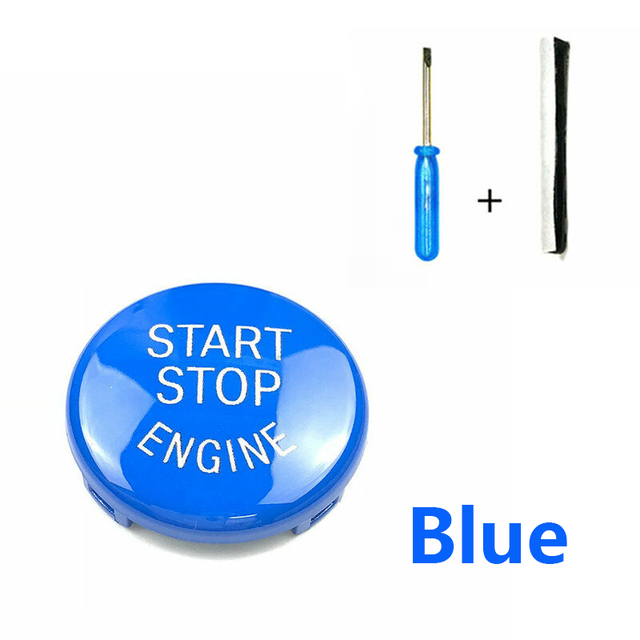 Car Engine START Button Replace Cover STOP Switch for BMW 1 3 5 Series E87 E90/E91/E92/E93 E60 X1 E84 X3 E83 X5 E70 X6 E71 Z4 4