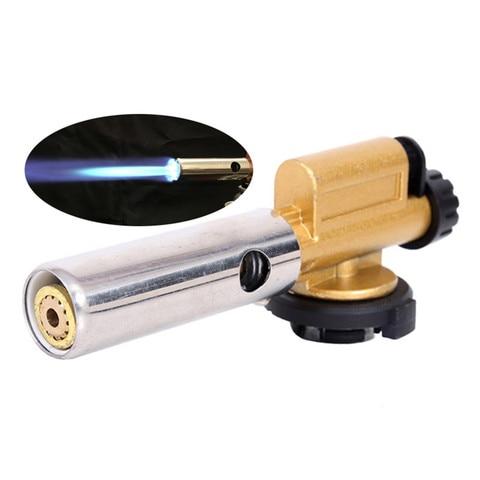 queimadores de gas metal portatil eletronico ignicao cobre chama arma butano fabricante tocha isqueiro para
