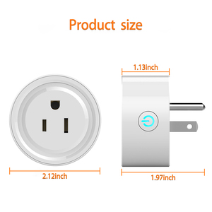 Image 4 - Smart Plug, Rdxone Mini WiFi Outlet Works with Alexa, Google Home,   Only Supports 2.4GHz Network