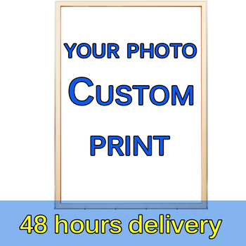 custom print canvas painting from your photo Poster Animal Figure Landscape Abstrac picture Parlor Hoom Décor Wall Art paintings недорого