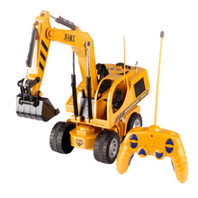 5CH RC excavator truck model toy RC wheel truck Toys for Chi